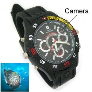 Waterproof Motion Detection Pinhole Camera with Web Camera Function